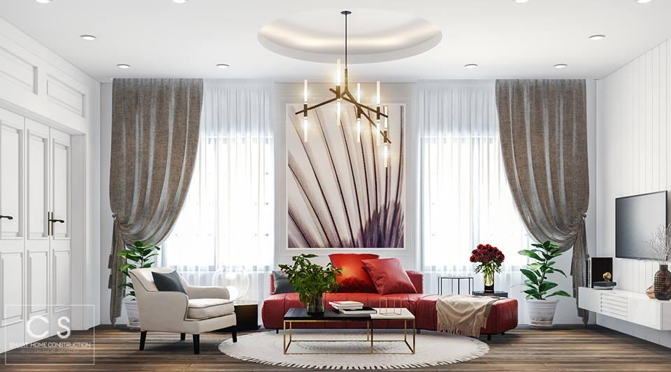 thiết kế nội thất căn hộ anh hoan