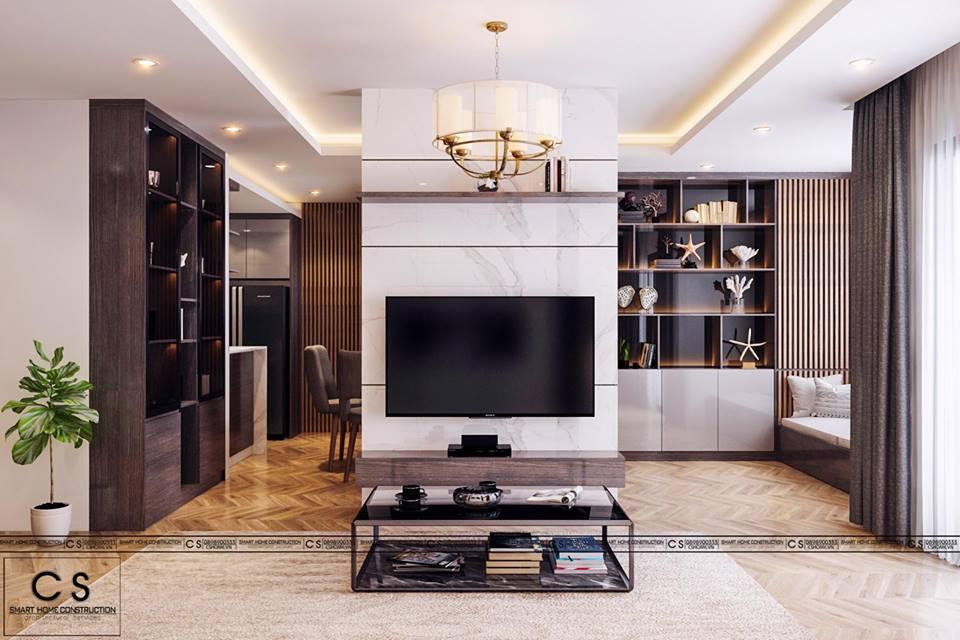 thiết kế nội thất căn hộ anh shu hung