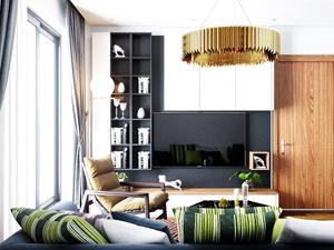 thiết kế nội thất căn hộ chị lan