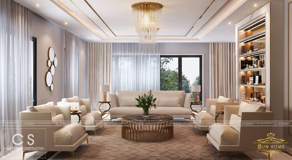 thiết kế nội thất căn hộ mr.john