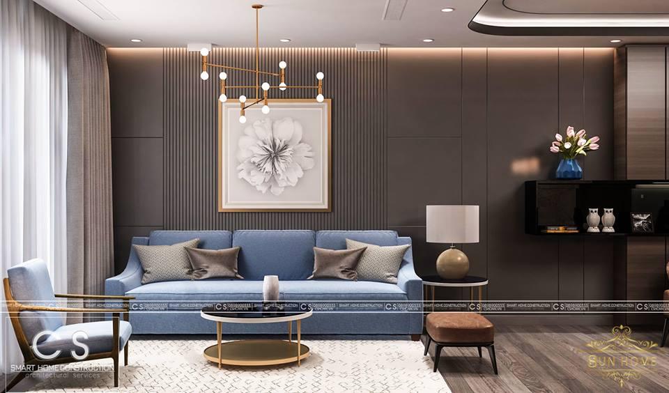 thiết kế nội thất căn hộ anh phong