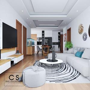 thiết kế nội thất căn hộ anh hiếu