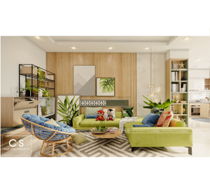 thiết kế nội thất căn hộ anh trung