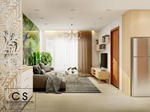thiết kế nội thất căn hộ anh hải
