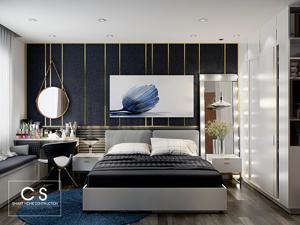 thiết kế nội thất căn hộ chị linh