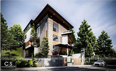 Hill Garden Villa