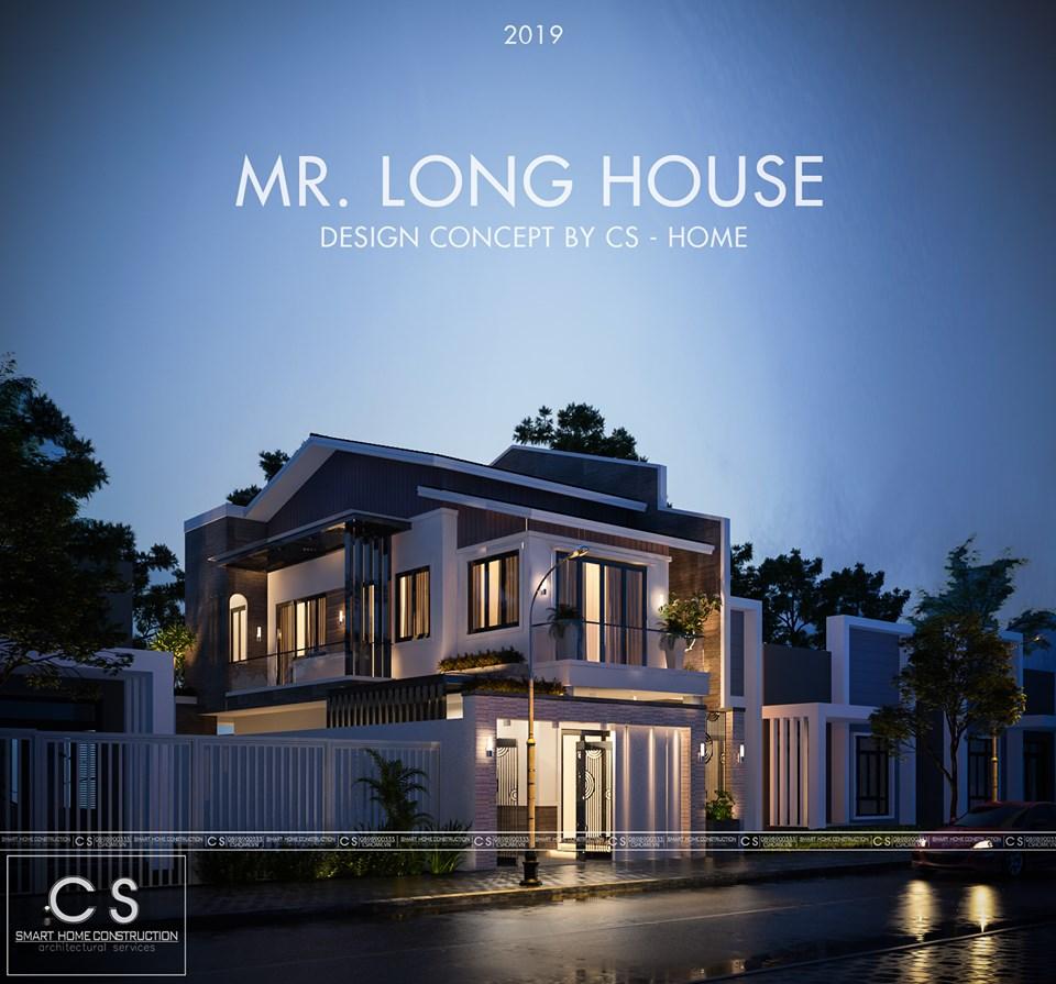 kiến trúc nhà anh long