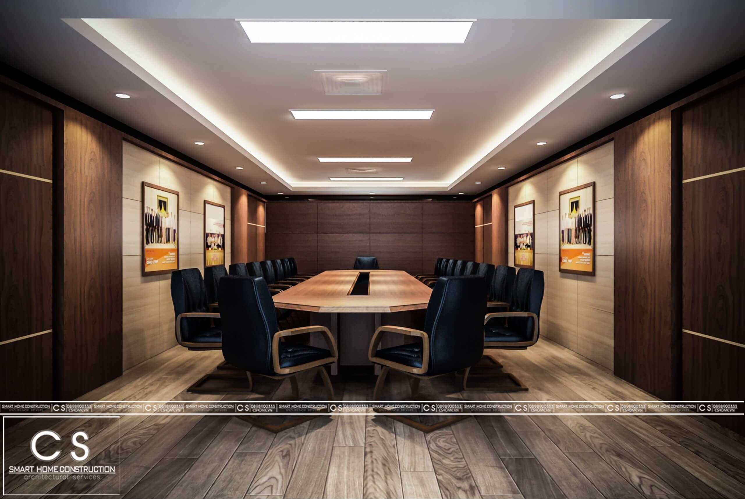 thiết kế nội thất văn phòng bidv