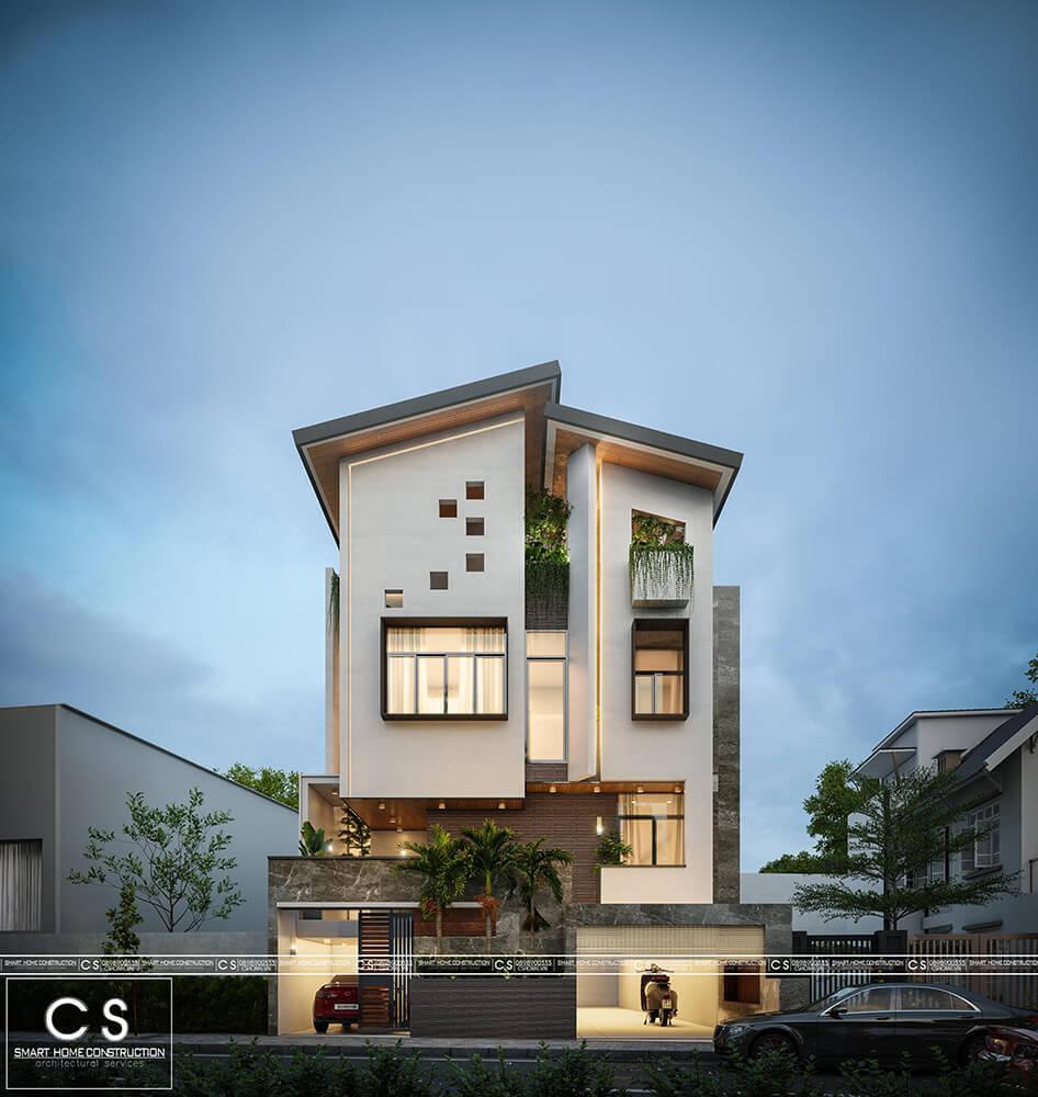 thiết kế kiến trúc nha phố anh tiến