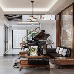 thiết kế nội thất nhà phố anh lân