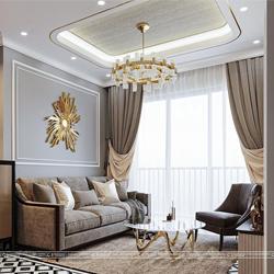 thiết kế nội thất căn hộ anh thanh