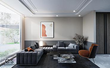 thiết kế nội thất phong cách hiện đại cho căn nhà ở quê