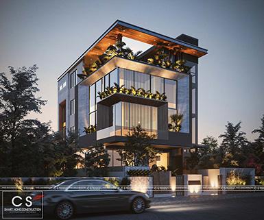 thiết kế kiến trúc văn phòng hà nội