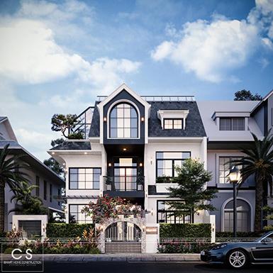 thiết kế kiến trúc biệt thự độc đáo
