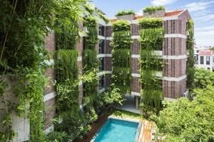 xu hướng xây dựng những khách sạn xanh đang trở nên ngày càng phát triển