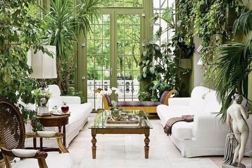 tạo khu vườn trong nhà đẹp đến ngẩn ngơ