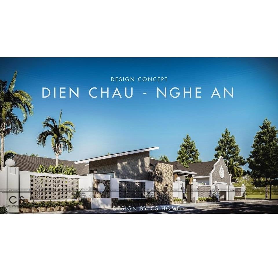 Nét thu hút độc đáo của căn biệt thự vườn tại Diễn Châu  - Nghệ An