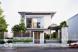 ý tưởng cho ngôi nhà: thiết kế nhà phố đơn giản hiện đại có hồ bơi mini